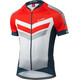 Löffler Hotbond RF Bike Jersey Shortsleeve Men orange/blue